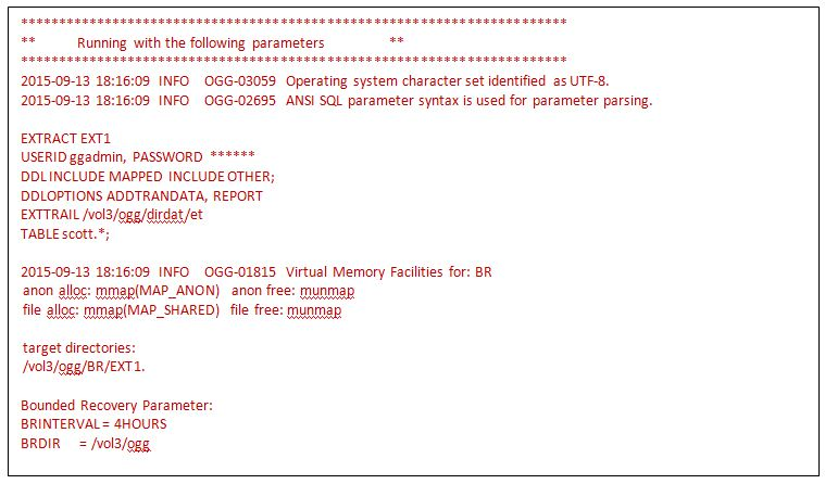 Approach to Troubleshoot an Abended OGG Process – ORACLE-SCN